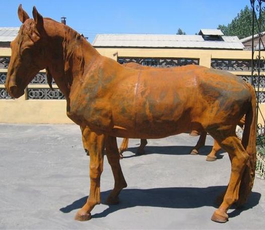 normal size cast iron animal of horse garden animal, large horse animal-G1275