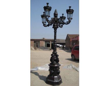 lighting pole lamps,wrought iron lamps,garden post lights,garden lights