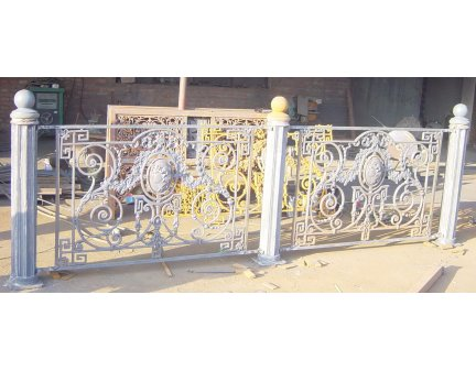 wrought iron stair railing,cheap fencing,garden fence