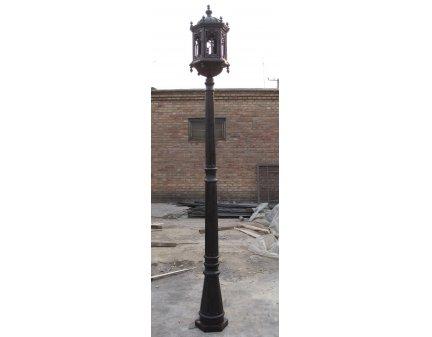 black wrought iron floor lamps,garden fence lights