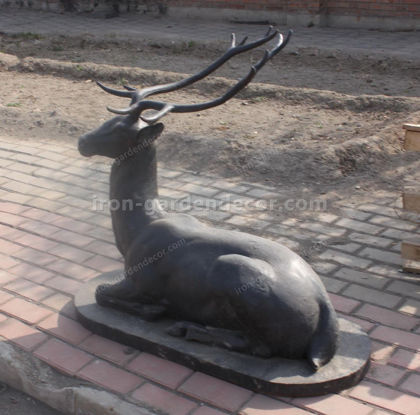 cast iron stag,animal,iron stags,cast iron animal banks,cast iron animal heads,cast iron animal banks,metal a-T-4178