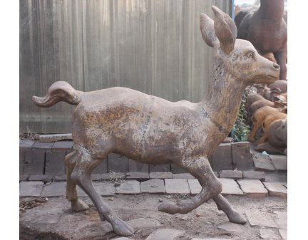 metal stag animal,cast iron stag,iron stags