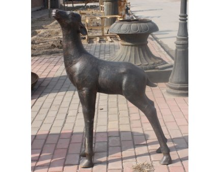 cast iron metal  garden decoration animals