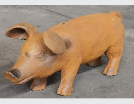 smal iron garden items,metal iron decorations,small iron items,the metal pig,large metal chicken run