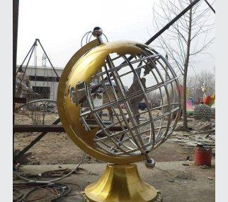 tellurion garden steel stainless sculpture
