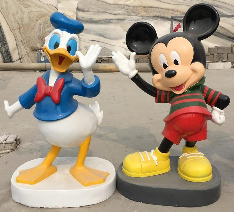 Cartoon Sculpture,Cartoon Statue of Donald Duck-FS058