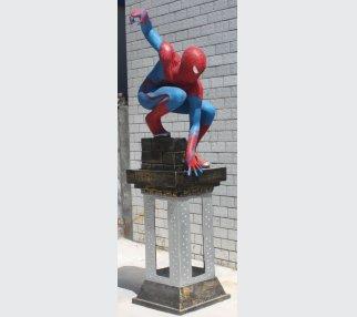 Relief Art Sculpture Cartoon of the super spider-Man