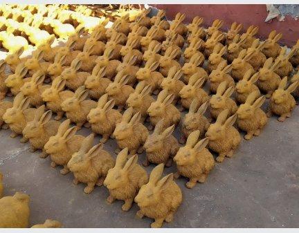 metal animals wholesale,metal animal yard art rabbit
