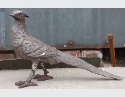 yard art metal animals,cast iron bird animals