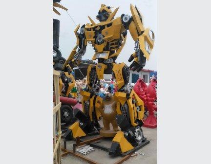 Autobots Transformers Iron Robot,Garden Sculpture