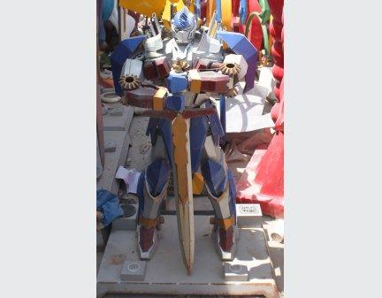High Quality Large Modern Sculpture,Transformer Robot Model