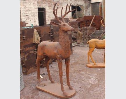 metal garden art animals,metal garden animals stags