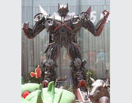 Transformer Robot Model,Design Iron Robot Man,Autobots Transformers Iron Robot