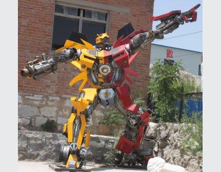 High Quality Iron Sculpture,Electrical Robot Toys,Decor Metal Robot Iron