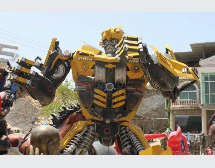Modern Art Sculpture,High Quality 2m Robot,High Quality Robot Model