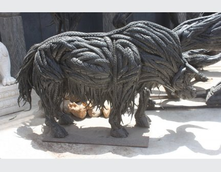 new item,tire animals bull
