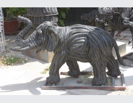 belt animals,Tire regeneration animal sculpture tire elephant