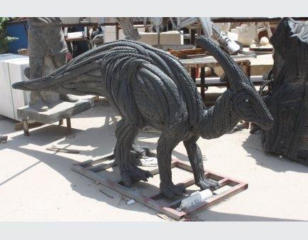 Tire regeneration animal sculpture,tire animal tire dinosaur