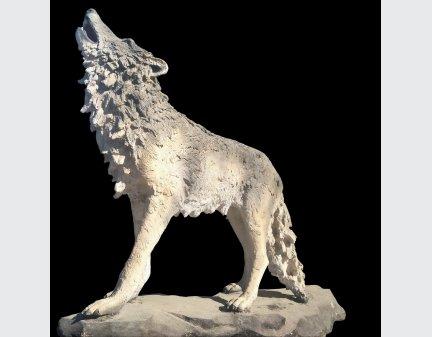 Fiberglass Polyresin Craft,Fiberglass Art wolf