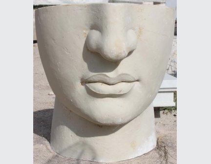 Fiberglass Customize Artwork face mask