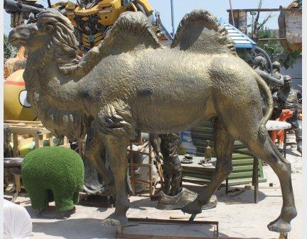 Fiberglass,Art Sculpture camel