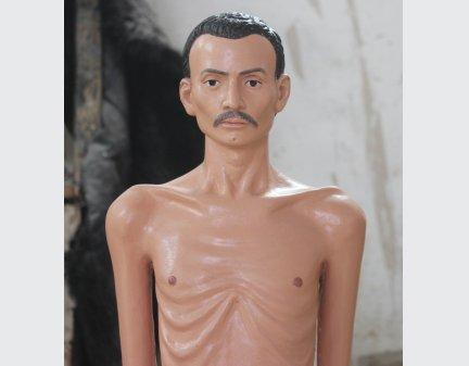 ,Fiberglass Polyresin Craft,Fiberglass statue standing man