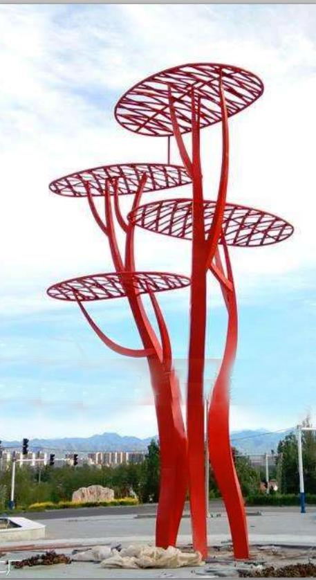 Garden Sculpture Modern Art Sculpture stainless steel abstract-6