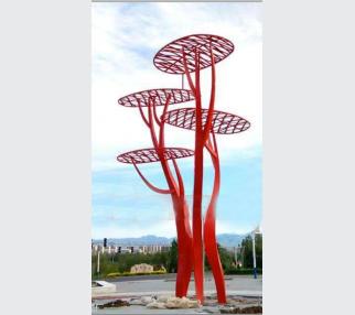 Garden Sculpture Modern Art Sculpture stainless steel abstract