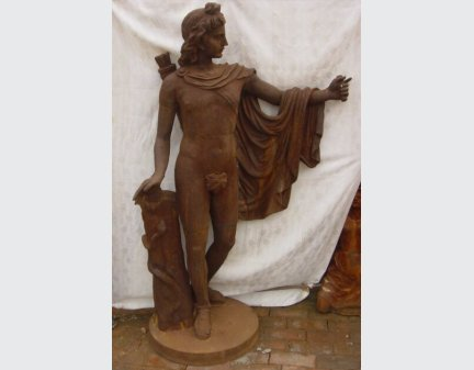 Iron Casting Statue,cast iron carving