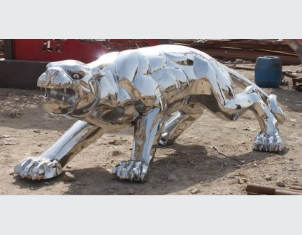 High Quality Iron Sculpture Stainless Steel animal sculpture