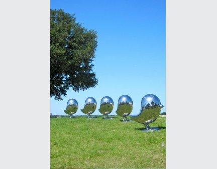 Modern Art Sculpture Stainless Steel Statue