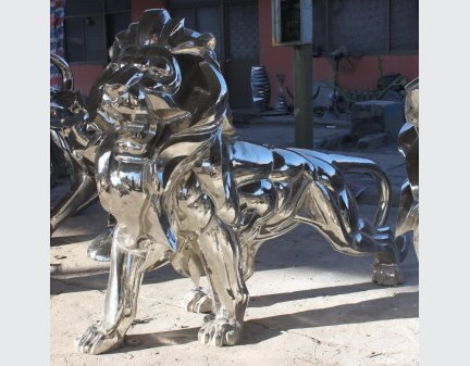 High Quality Large Modern Sculpture Stainless Steel Sculpture