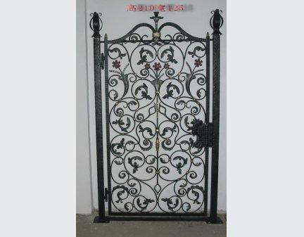 the iron gate,iron fence garden gate