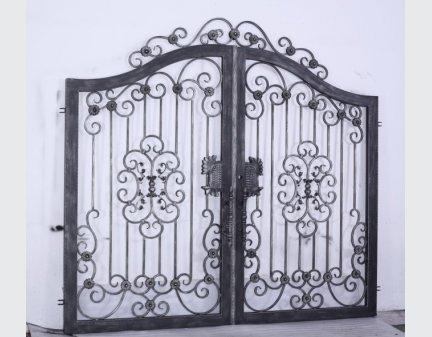 iron bench wrought,gate,iron gate door