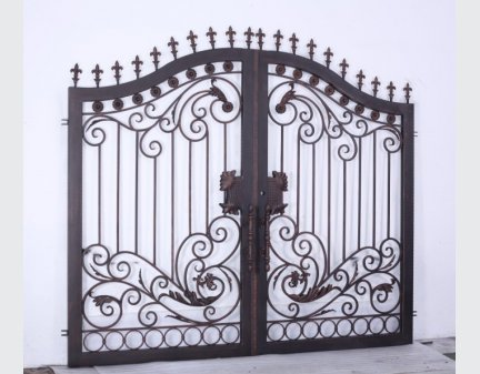outdoor iron gate,iron gate door
