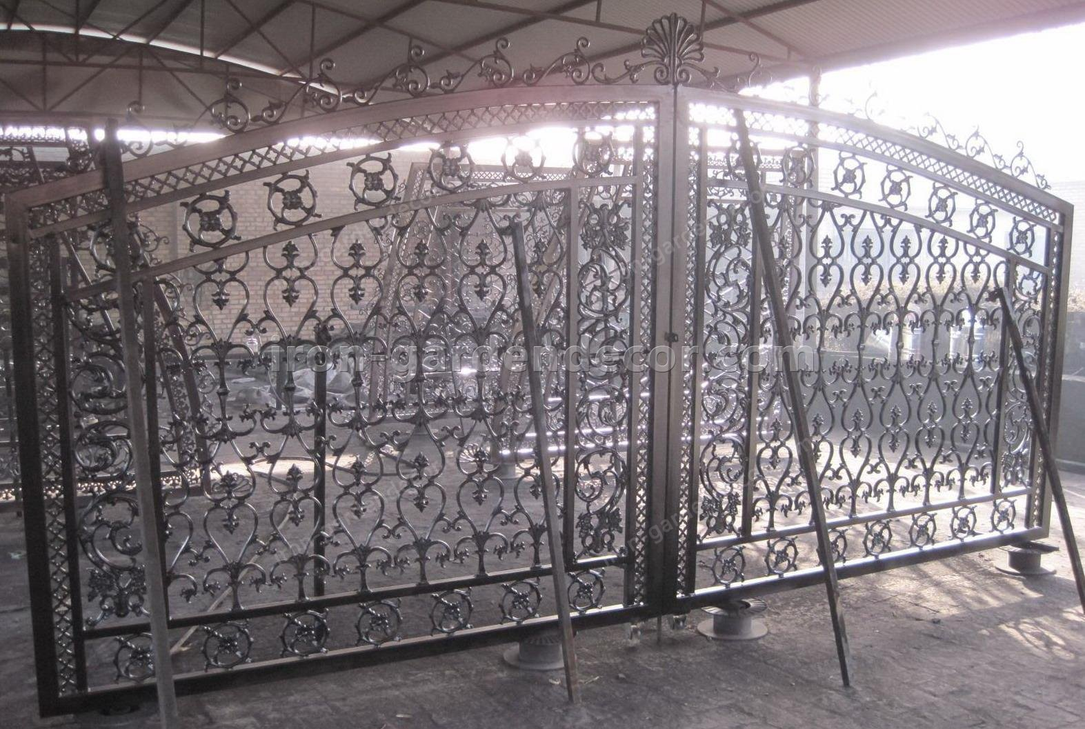 cast metal simple gate,fence gate-T-5156 (1)