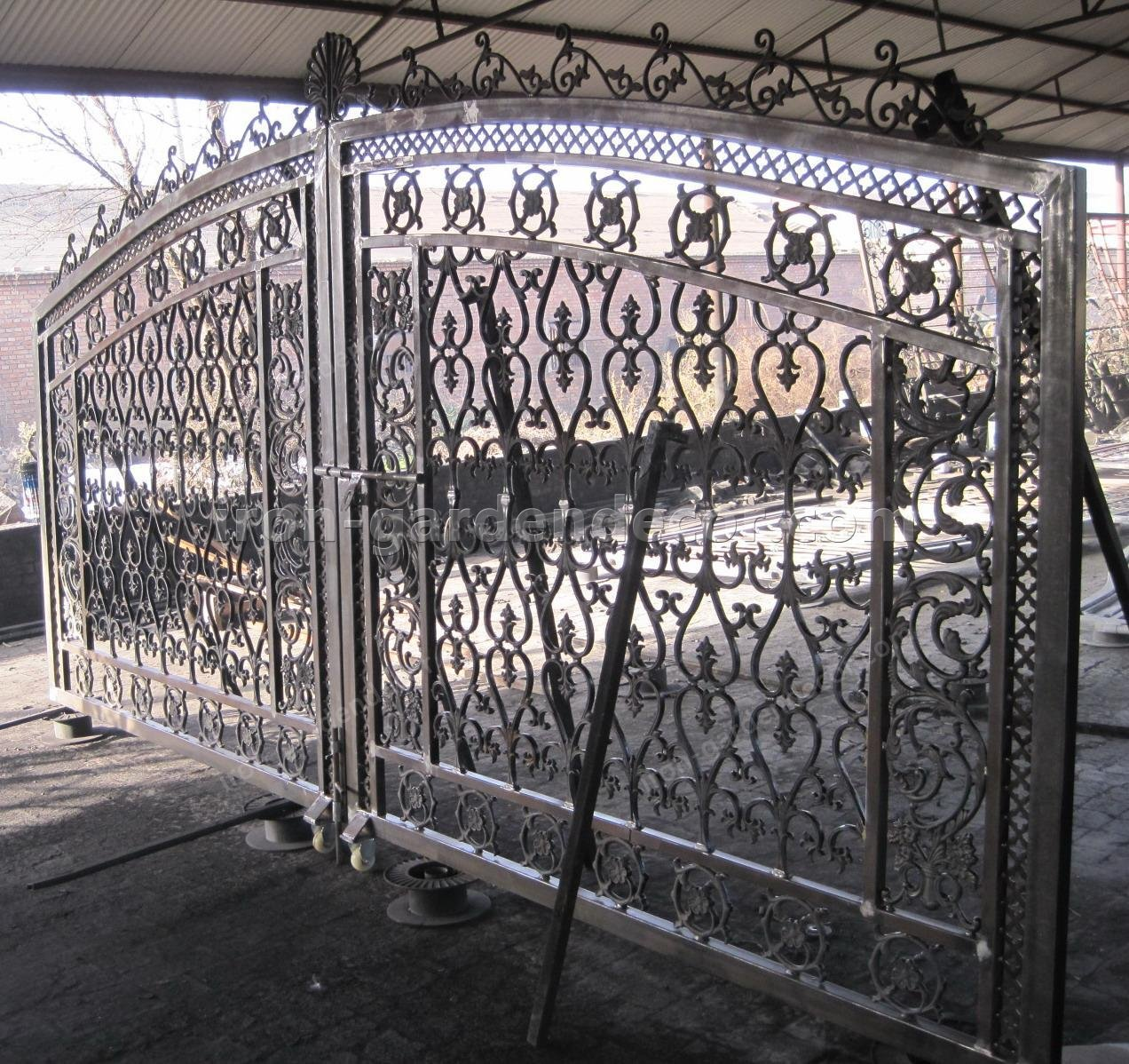 cast metal simple gate,fence gate-T-5156 (2)