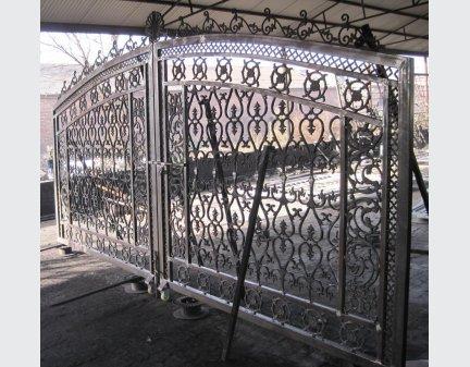cast metal simple gate,fence gate