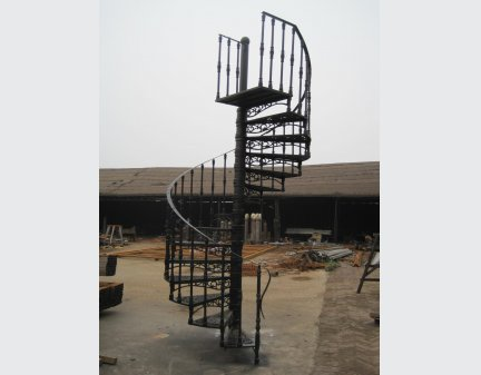 iron staircase,Wrought Iron Stair customized Design iron